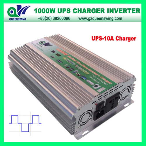 Ups 1000w Modified Sine Wave Power Inverter With 10a Charger