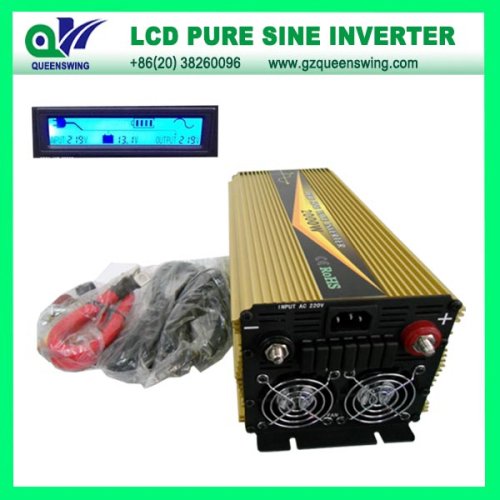 Ups 1000w Pure Sine Wave Power Inverter With Lcd Display