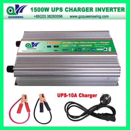 Ups 1500w Modified Sine Wave Power Inverter With 10a Charger