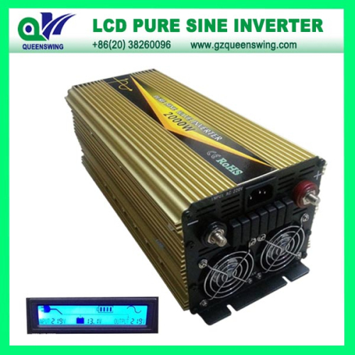 Ups 1500w Pure Sine Wave Power Inverter With Lcd Display
