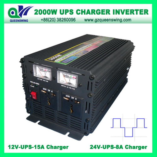 Ups 2000w Modified Sine Wave Power Inverter With Charger