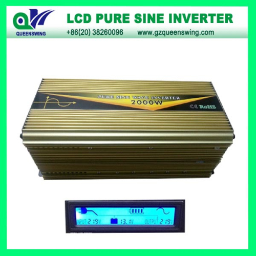 Ups 2000w Pure Sine Wave Power Inverter With Lcd Display