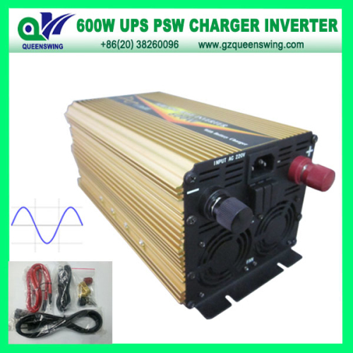 Ups 600w Pure Sine Wave Power Inverter With 10a Charger