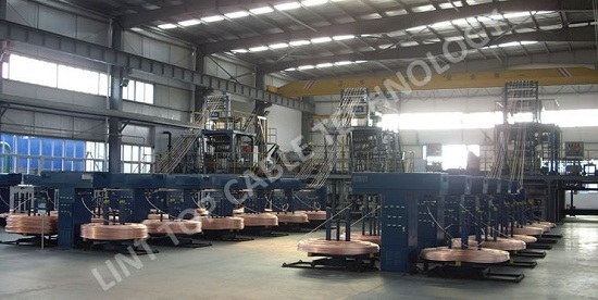 Upward Continuous Casting System For Oxygen Free Copper Rod
