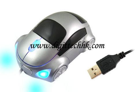 Usb 3d Optical Mouse Mice For Pc Laptop Car Shape