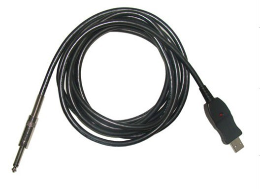 Usb Guitar Link Cable 6 3mm Mono Jack To