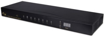 Usb Kvm 8x1 Switcher Hl Swuk801