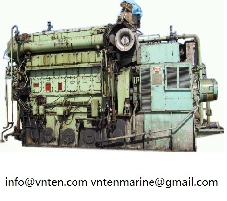 Used 2nd Hand Diesel Engine And Generator Set