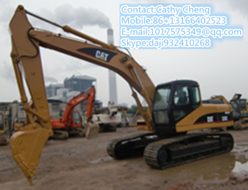 Used Cat 320c 3 Excavator