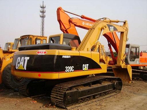 Used Cat 320c 5 Excavator