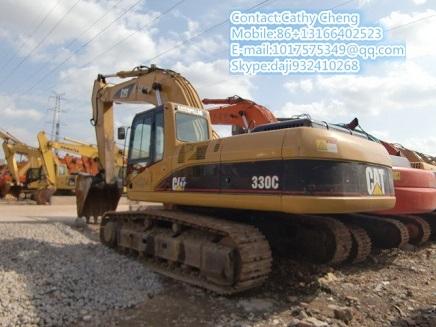 Used Cat 330c 3 Excavator