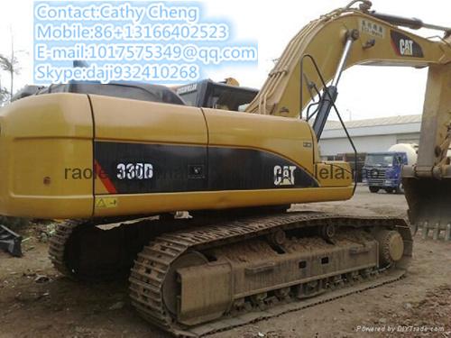 Used Cat 330d 2 Excavator