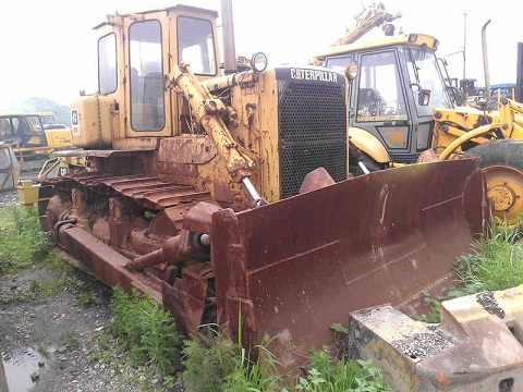 Used Cat D7g 3 Bulldozer