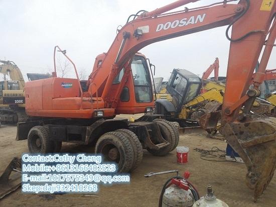 Used Daewoo Dh130w 2 Excavator