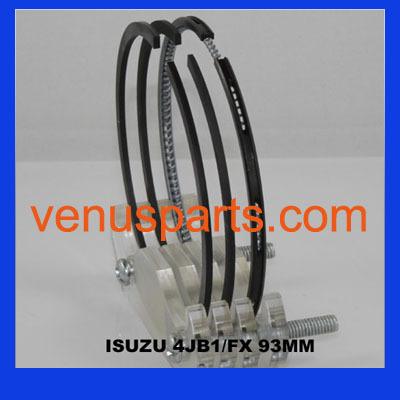 Used Engine Isuzu Diesel 4ba1 Piston Ring 5 12121 001 0 019 12181 025