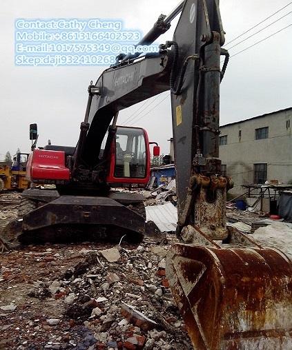 Used Hitachi Ex 210w Excavator