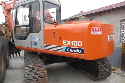 Used Hitachi Ex100excavator