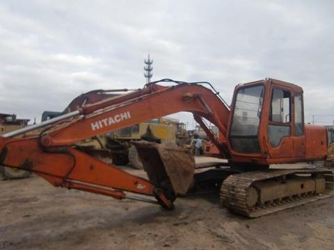 Used Hitachi Ex120 Excavator