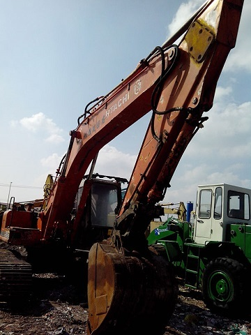 Used Hitachi Ex200 2 Excavator