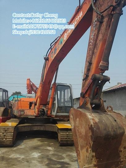 Used Hitachi Ex200lc Excavator