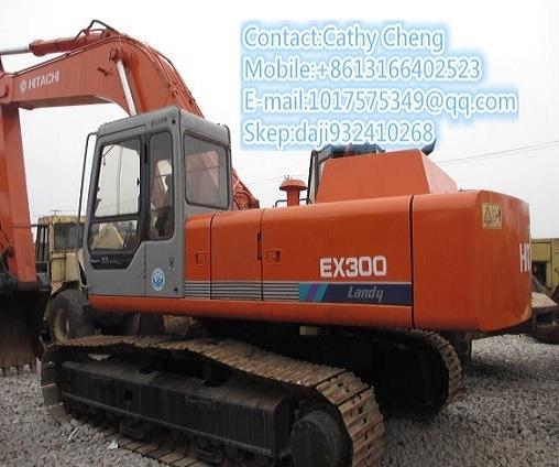 Used Hitachi Ex300 Excavator