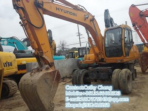 Used Hyundai 130w 5 Excavator