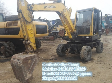 Used Hyundai R60w 7 Excavator