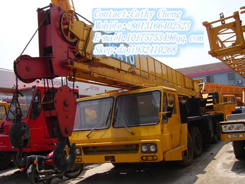 Used Kato Nk400e V Crane