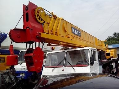 Used Kato Nk500ev Crane