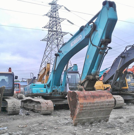 Used Kobelco Sk350lc 2 Excavator