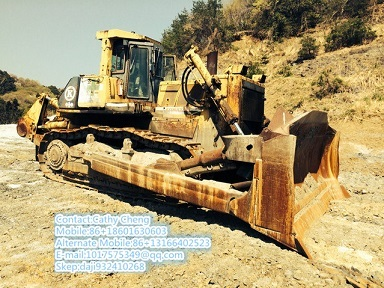 Used Komatsu D375a Bulldozer