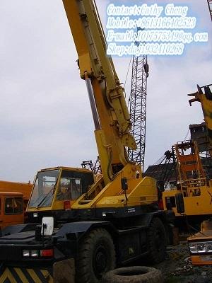 Used Komatsu Lw250 3 Crane