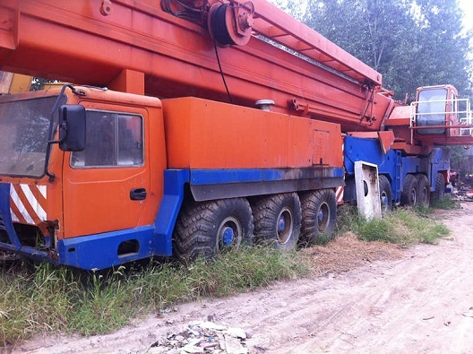 Used Liebehher Ltm1450 Crane