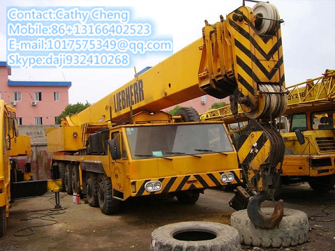 Used Liebhher Ltm1100 5 Crane