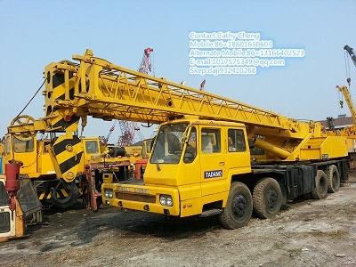 Used Tadano Gt300e Crane