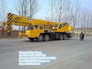 Used Tadano Gt500e 2 Crane