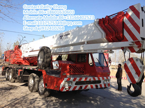 Used Tadano Gt500e 3 Crane