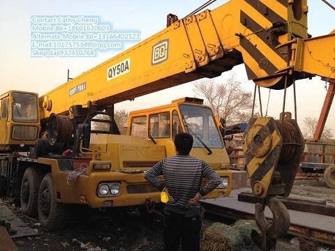 Used Tadano Gt500e 4 Crane