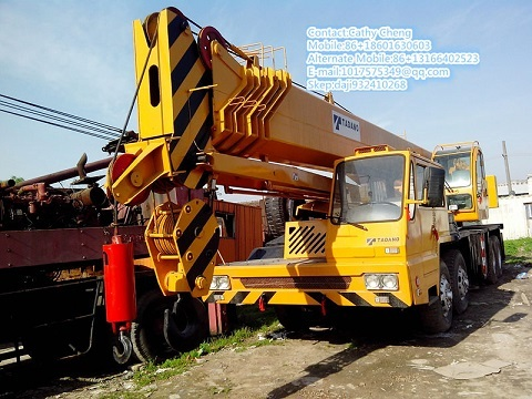 Used Tadano Gt550e 2 Crane