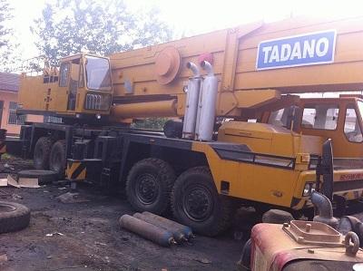 Used Tadano Tg1600m Crane