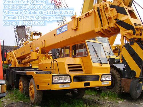 Used Tadano Tg300e Crane