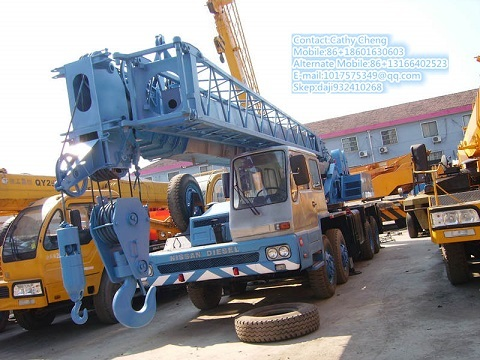 Used Tadano Tg500e 5 Crane