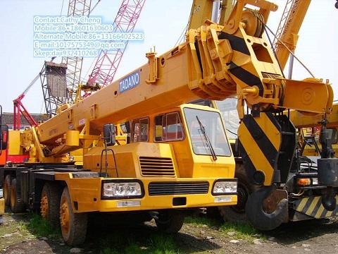 Used Tadano Tl350e Crane