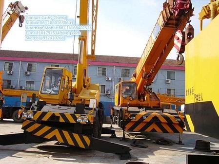 Used Tadano Tr250m 1 Crane