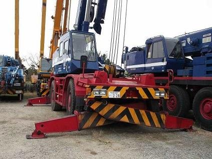 Used Tadano Tr250m Crane