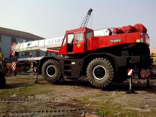 Used Tadano Tr500ex Crane