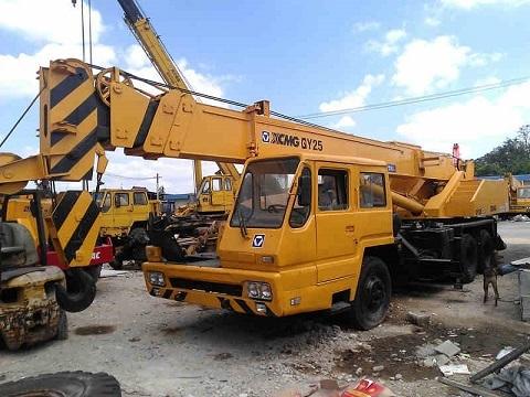 Used Xgmg Qy25 Crane