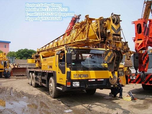 Used Xgmg Qy25k 5 Crane