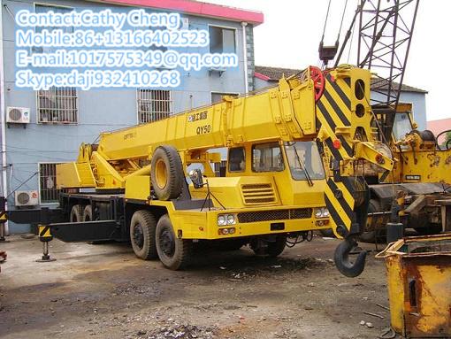 Used Xgmg Qy50 2 Crane