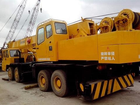 Used Xgmg Qy50 3 Crane